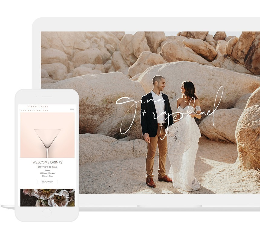 Modern Wedding Websites